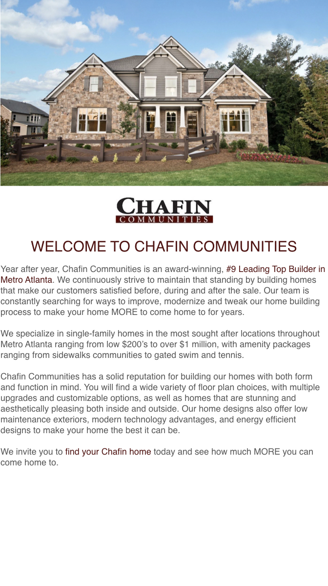 Chafin Communities