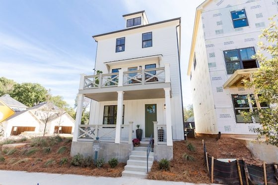 New Homes in Atlanta, GA at Bixton built by Edward Andrews Homes