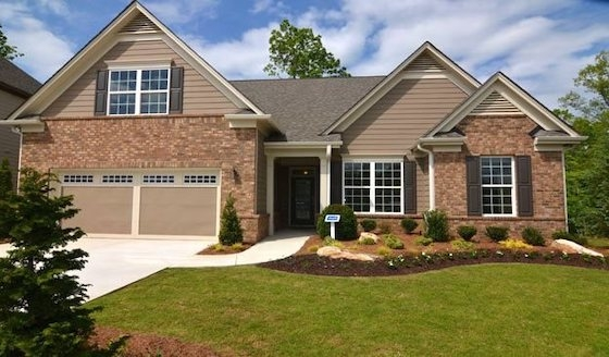 New Active Adult Homes in Gainesville, Georgia built by Kolter Homes
