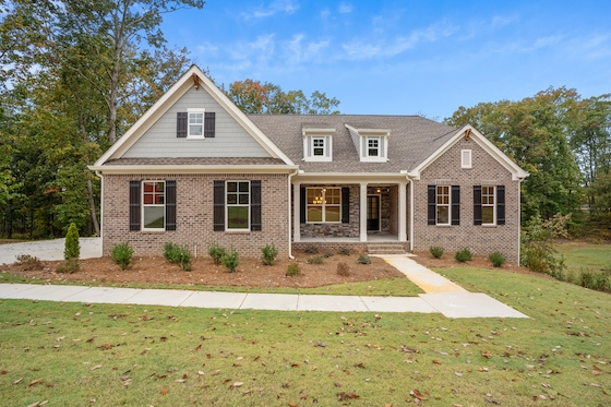 New Homes in Winder, Georgia in St. Ives built by Ashland Homes