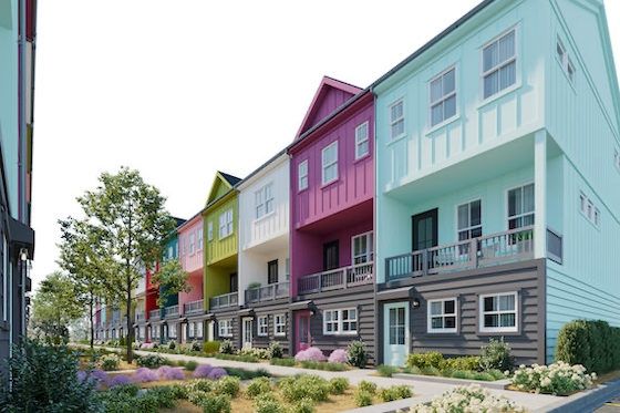 New Homes in Atlanta, Georgia built by Empire Communities in Paintbox
