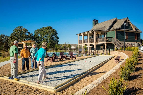 Active Adult New Homes in Hall County, GA built by David Weekley Homes in The Retreat at Sterling on the Lake, a premier Active Adult 55+ New Home Community!