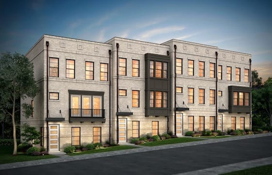 New Townhomes in Atlanta, GA built by Pulte Homes in Easton - New Townhomes in Atlanta's West Midtown!